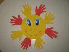 Как сделать солнышко для детского сада своими руками
