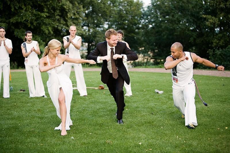 Конкурсы на свадьбе на природе для гостей