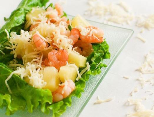 рецепты салатов к новому году без фото