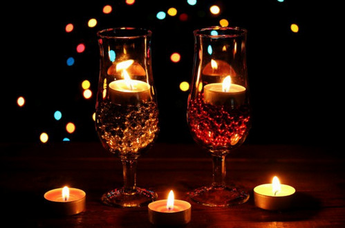 Подсвечники для романтического вечера своими руками