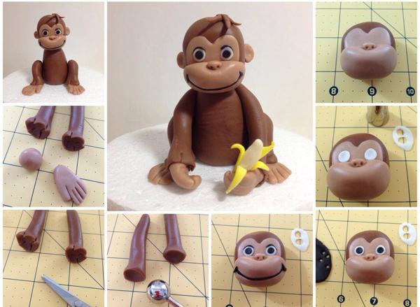 Делаем обезьянок своими руками