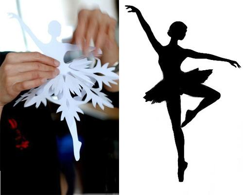 Украшения к новому году своими руками фото балерина