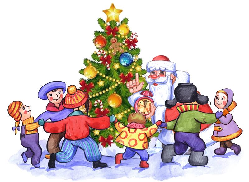 Сценарий новый год праздник для детей
