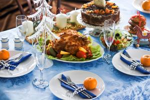 Праздничный стол на Новый год: рецепты с фото