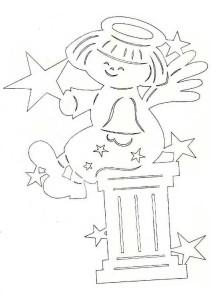 Ангелочек со звездами