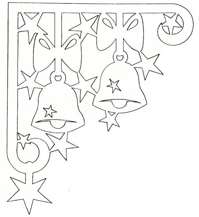 Киригами новогодние на окно торрентом