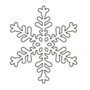 Шаблоны снежинок для вырезания