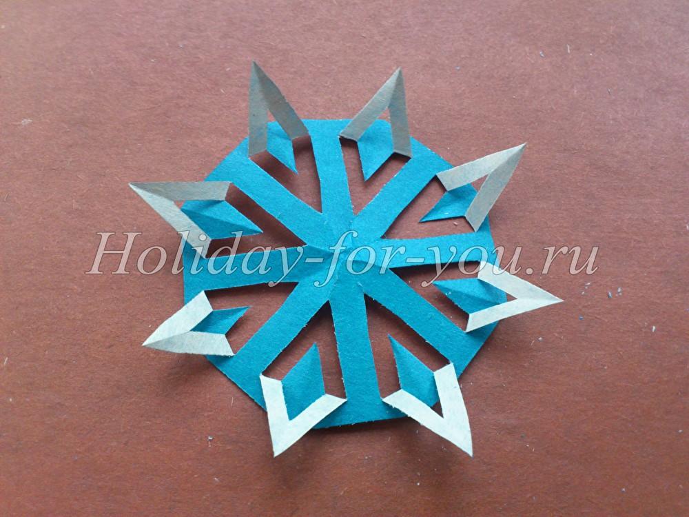 Необычные снежинки из бумаги своими руками к новому году