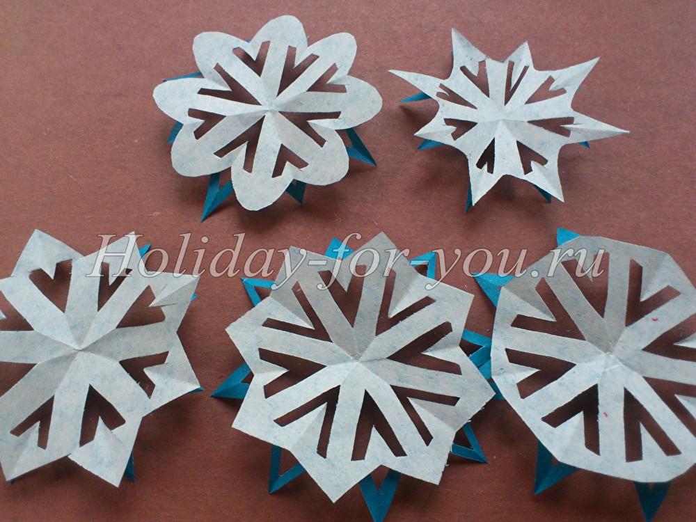 Как вырезать красивые снежинки из бумаги. Схемы снежинок (Снежинки трафареты необычные) в Сочи