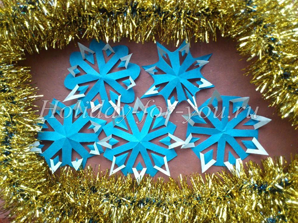 Новогодние поделки снежинки своими руками на 2016