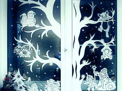 Как сделать красивые снежинки из белой бумаги 112