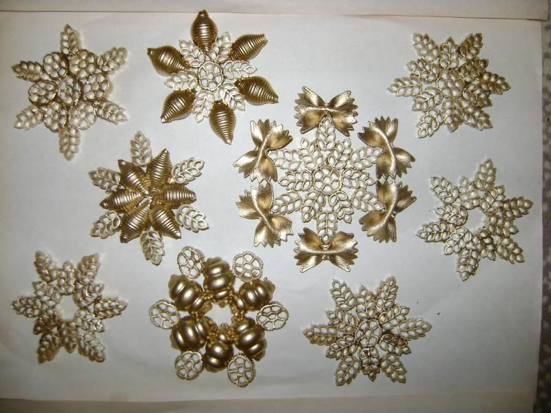 Поделки снежинки своими руками фото