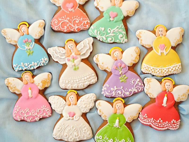 Печенье ангелочки