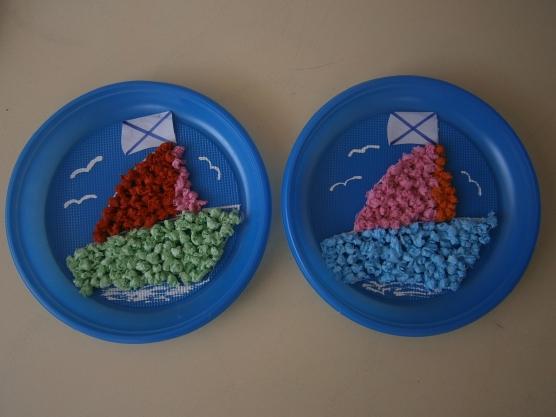Кораблик в детском саду своими руками 99