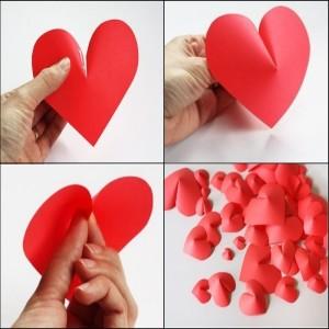 Поделки на День влюбленных своими руками из бумаги