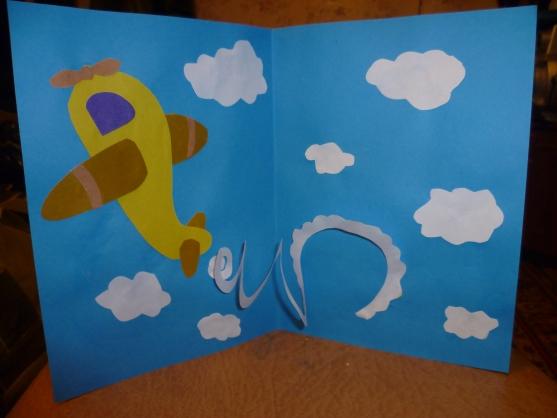 Детские поделки из бумаги открытки 23 февраля