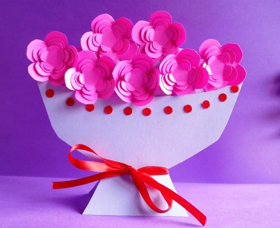 Подарок для мамы своими руками от дочки