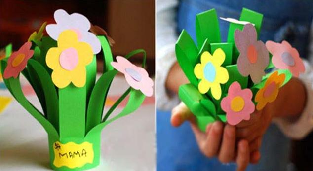 Поделки на 8 марта дошкольники