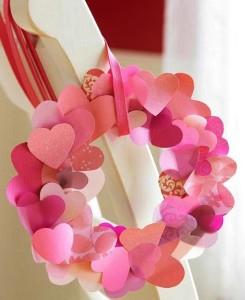 Подвеска из сердечек