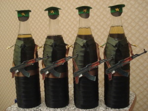 Солдат из бутылки