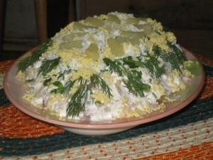 Салат с курицей «Дивное сочетание»