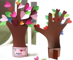 Подарок маме на День Рождения из бумаги