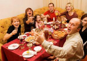 конкурсы на юбилей 55 лет женщине смешные за столом