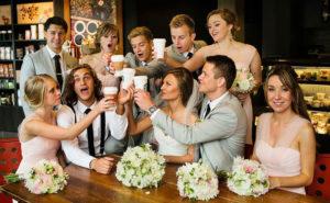 Свадьба в узком кругу