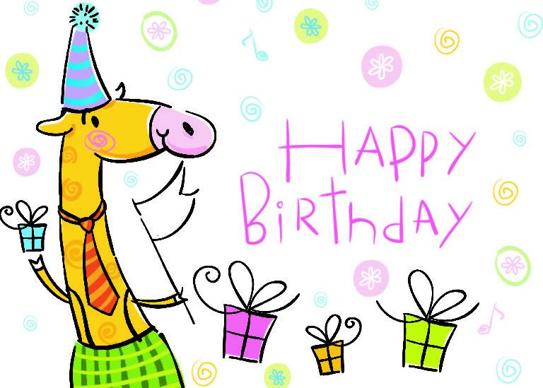 Очень весёлое поздравление на день рождения 158