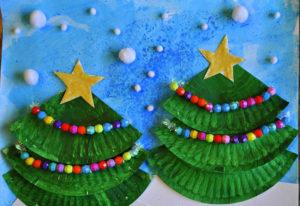 Поделки к Новому году своими руками для детского сада на тему зима