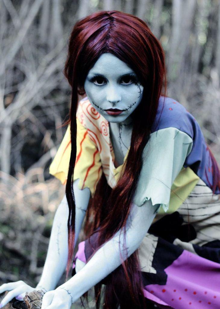 Как создать образ на хэллоуин для девушки