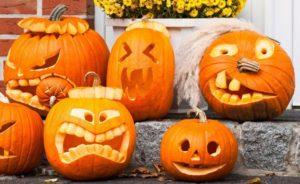 Как вырезать тыкву на Хэллоуин, фото