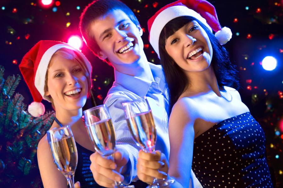 Встреча нового года в клубе