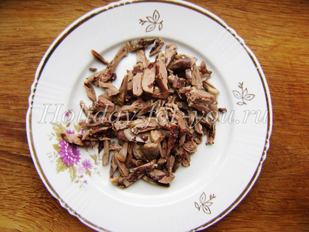 Салаты с говядиной  27 рецептов с фото пошагово