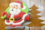 Миниатюра к статье Новогоднее печенье своими руками в подарок «Дед Мороз»