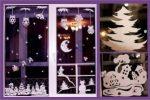 Миниатюра к статье Трафареты на окна к Новому году 2017 для вырезания