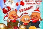 Миниатюра к статье Поздравления с Новым годом 2017 Петуха: смешные, короткие, смс