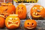 Миниатюра к статье Вырезаем тыкву на Хэллоуин (фото, трафареты, видео)